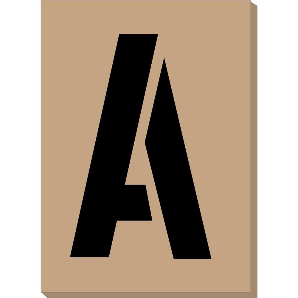 HY-KO 4 in. Number/Letter/Symbol Stencils