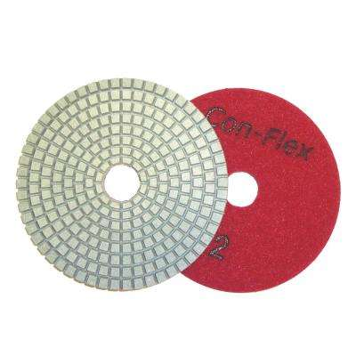 5 in. Con-Flex 5-Step Diamond Pads for Concrete Step 2