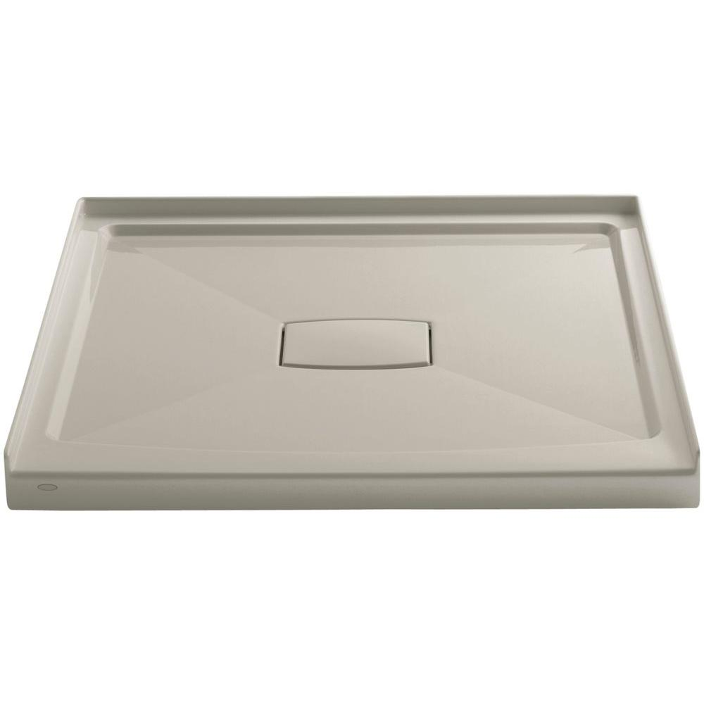 KOHLER Archer 42 in. x 42 in. Single Threshold Shower Base in Sandbar