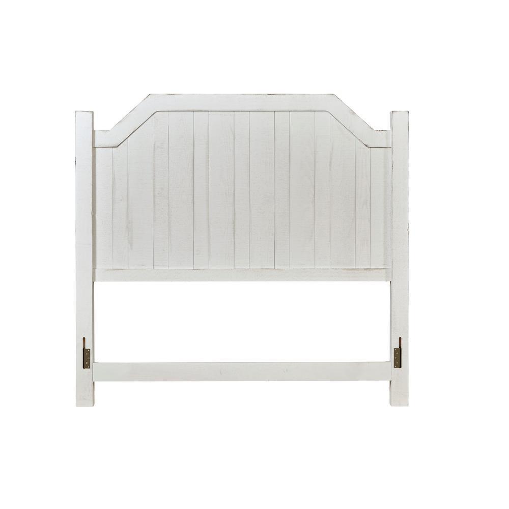 Elmhurst Cotton White King Headboard