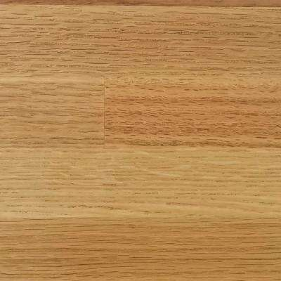 4 in. x 4 in. Wood Countertop in Oak