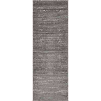 Uptown Collection by Jill Zarin™ Madison Avenue Gray 2' 2 x 6' 0 Runner Rug