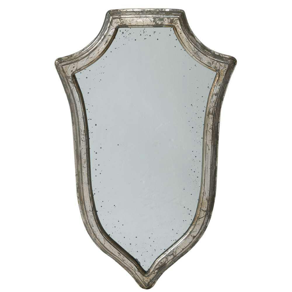 31.5 in. x 18 in. Framed Mirror