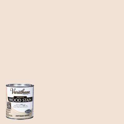 1 qt. Antique White Premium Fast Dry Interior Wood Stain (2-Pack)