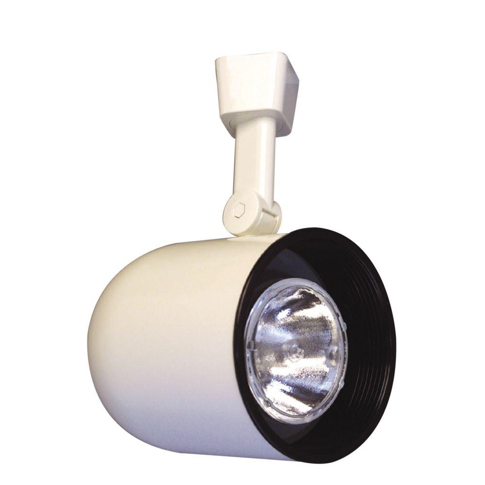 Halo White Body Lazer Small Roundback Cylinder Track Light Baffle