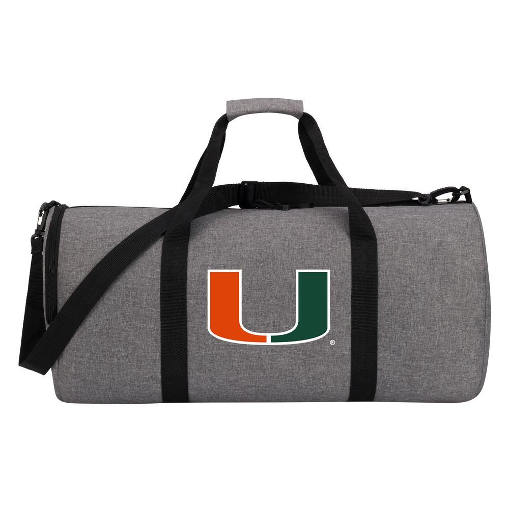 e004f4d2209f Miami Wingman 10 in. Heathered Gray Duffle Bag-C11COLDC6020011RTL ...