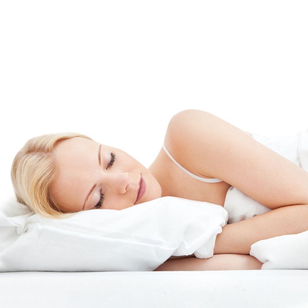 Blue Ridge White Goose Feather And Down Jumbo Pillow 2