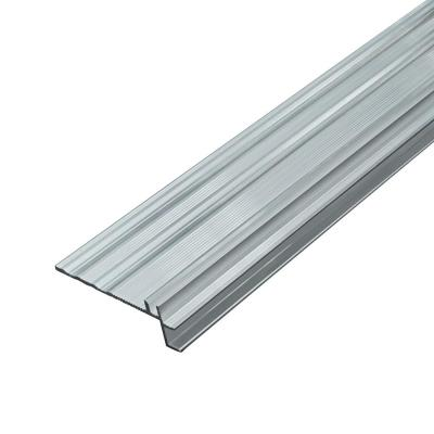 Aluminum .83 in. Thick x 2.79 in. Wide x 84.6 in. Length Stair Nose Track for 5 in 1 Molding