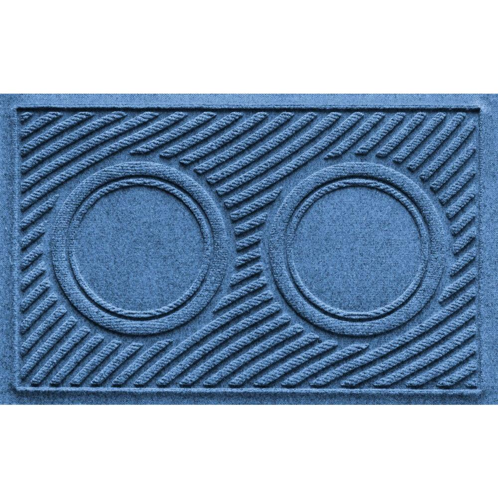 Aqua Shield Medium Blue 18 In. X 28 In. Dog Bowl Wave Pet