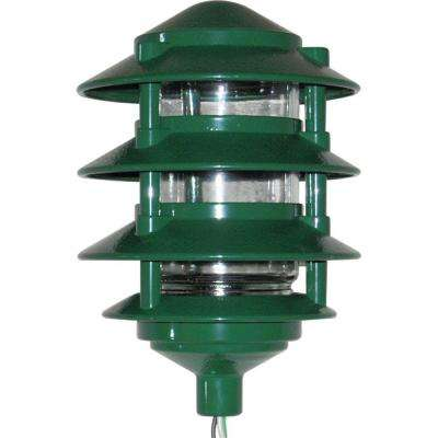4 Tier Path Light - Green