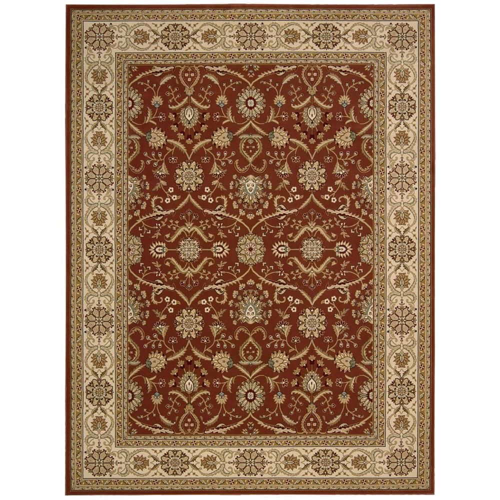 Nourison Persian Crown Malti Rose 3 ft. 9 in. x 5 ft. 9 in. Area Rug