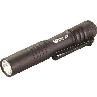 3.5 in. Black Microstream LED Pen Light Uses 1 AAA-Cell Battery