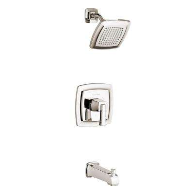 Townsend Single-Handle 1-Spray Tub and Shower Faucet in Polished Nickel (Valve Not Included)
