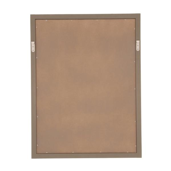 Home Decorators Collection - Brentwood 31 in. L x 24 in. W Wall Mirror in Driftwood