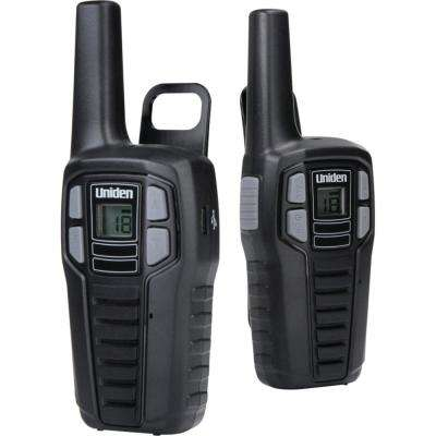 16-Mile 2-Way FRS/GMRS Radios with Batteries (2-Pack)