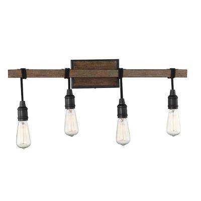 28 in. 4-Light Durango Vanity Light