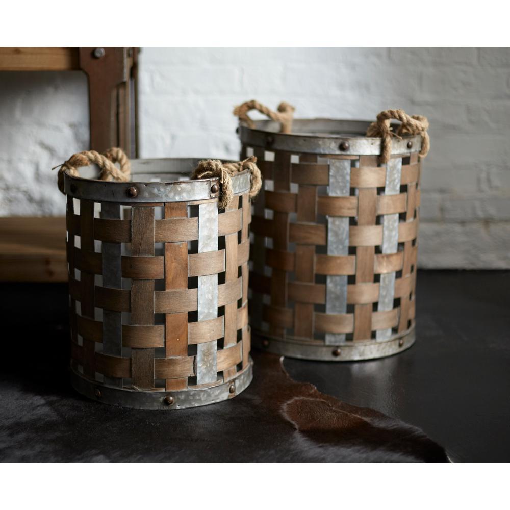 Woven Baskets (Set of 2)