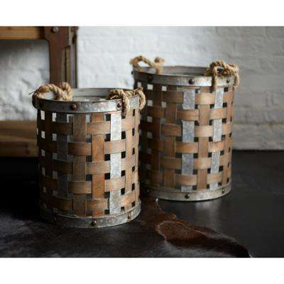 Woven Baskets (Set of 2)