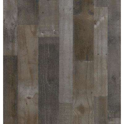 1/4 in. x 48 in. x 96 in. Weathered Gray Real Plywood Panel
