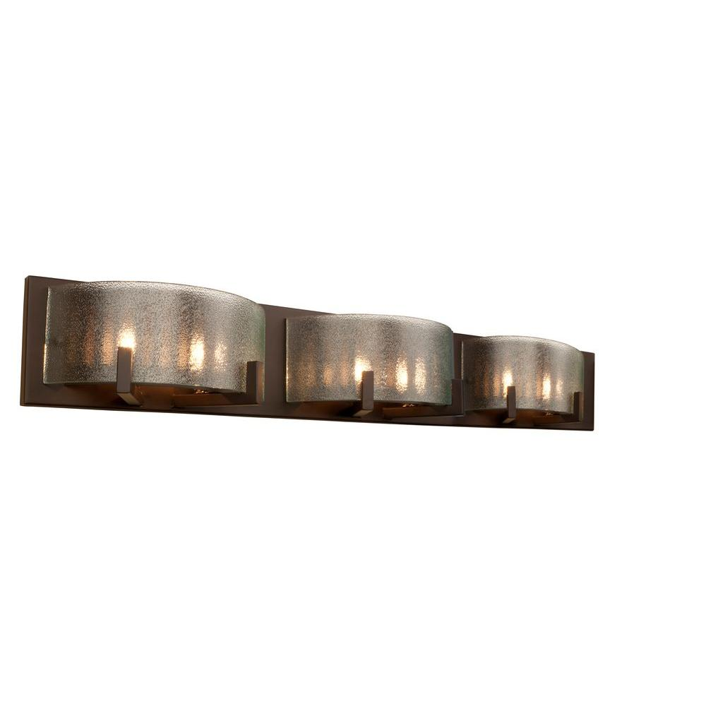 Home depot vanity lights for bathroom - Alternating Current Firefly 6 Light Bronze Bath Light Ac1196 The Home Depot