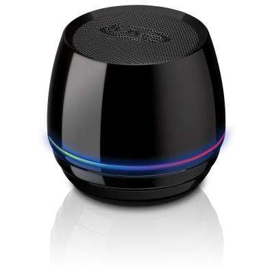Bluetooth Rechargeable Can Speaker, Black