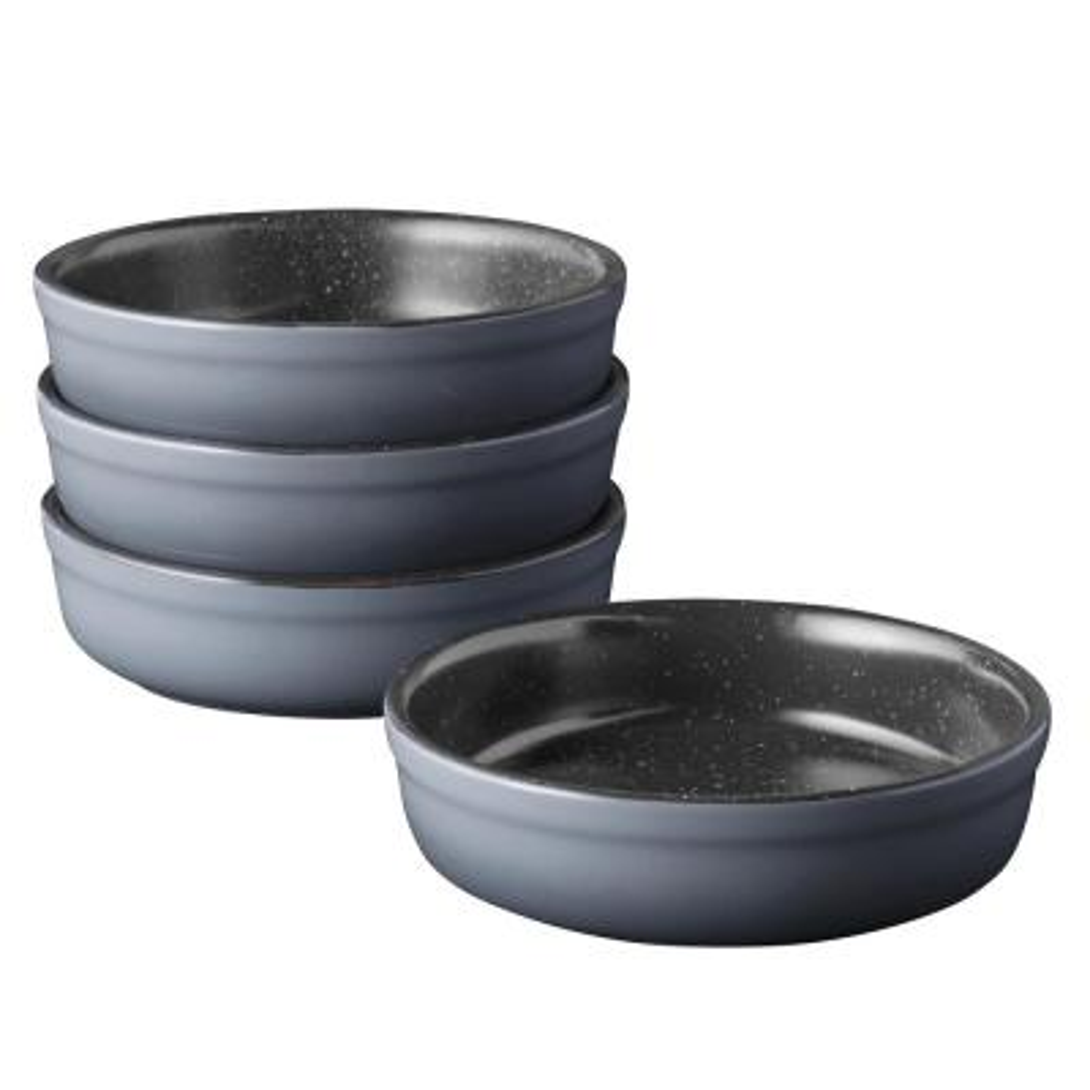 GEM Stoneware Non-Stick Crme Brle (Set of 4)