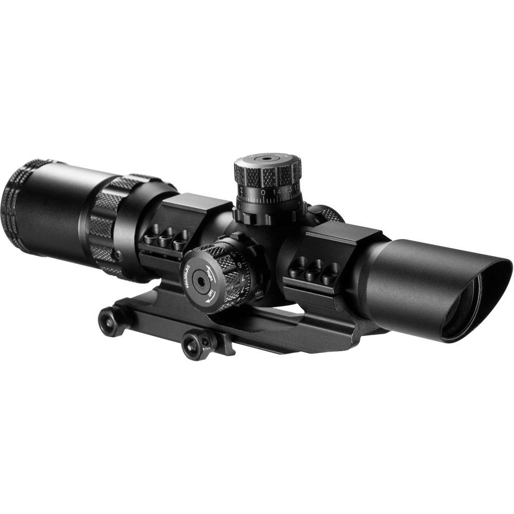 SWAT 1-4x28 Illuminated Reticle AR Riflescope