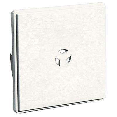 6.625 in. x 6.625 in. #123 White Dutch Lap Surface Universal Mounting Block