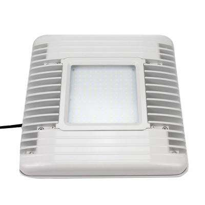 60-Watt White Integrated LED Flushmount Canopy Light 7,200-Lumen 5000K CCT