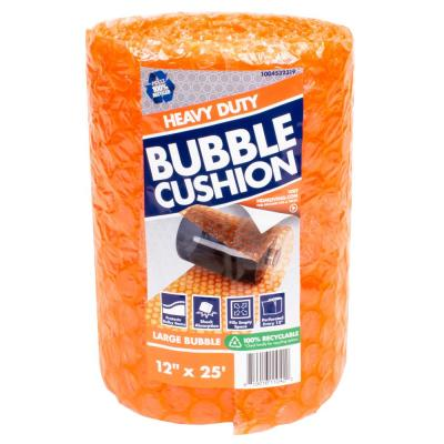 5/16 in. x 12 in. x 25 ft. Perforated Bubble Cushion Wrap (2-Pack)