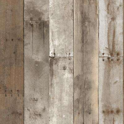 4 up wood special values vinyl wallpaper decor the weathered repurposed wood wallpaper thecheapjerseys Images