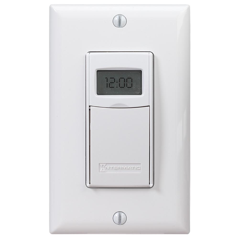 Intermatic 15 Amp Astronomic Digital In-Wall Timer