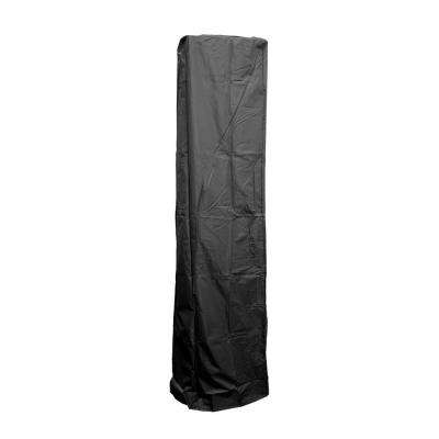 92 in. Heavy Duty Black Square Glass Tube Heater Cover
