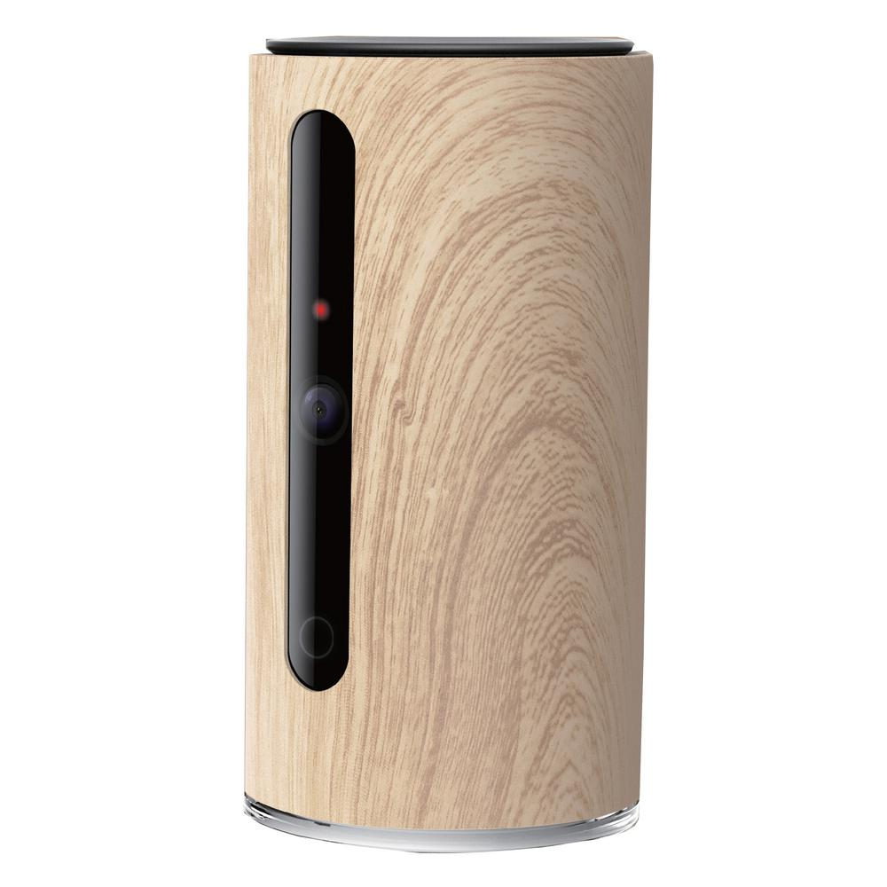 Wood Pattern Smart Dual Communication Infrared Hd Wifi Video Pet And
