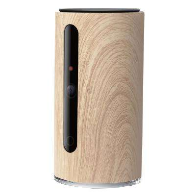 Wood Pattern Smart Dual Communication Infrared Hd Wifi Video Pet And Baby Monitor