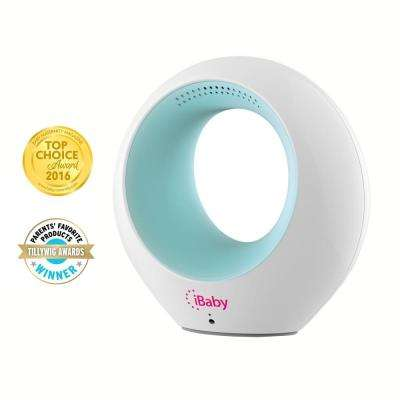 Air Smart Wi-Fi Audio Monitor, Air Quality Monitor and Ion Purifier, White