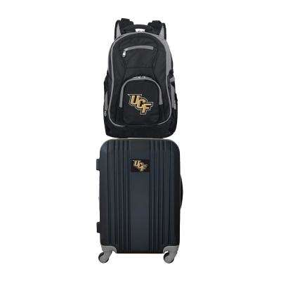 NCAA Central Florida Golden Knights 2-Piece Set Luggage and Backpack