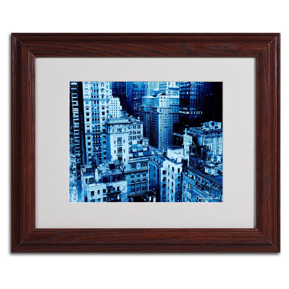 Trademark Fine Art 11 in. x 14 in. Upper West Side Matted Framed Art