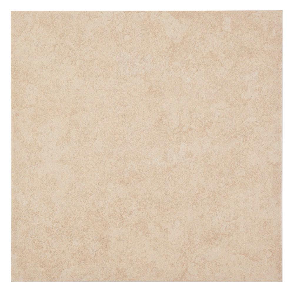 Sanibel White 12 in. x 12 in. Ceramic White Floor and Wall Tile (14 sq. ft. / case)
