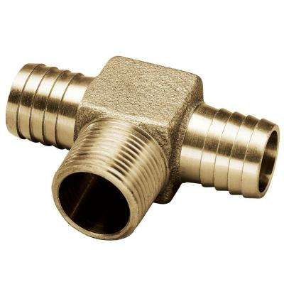 3/4 in. x 3/4 in. x 3/4 in. Brass Yard Hydrant Tee
