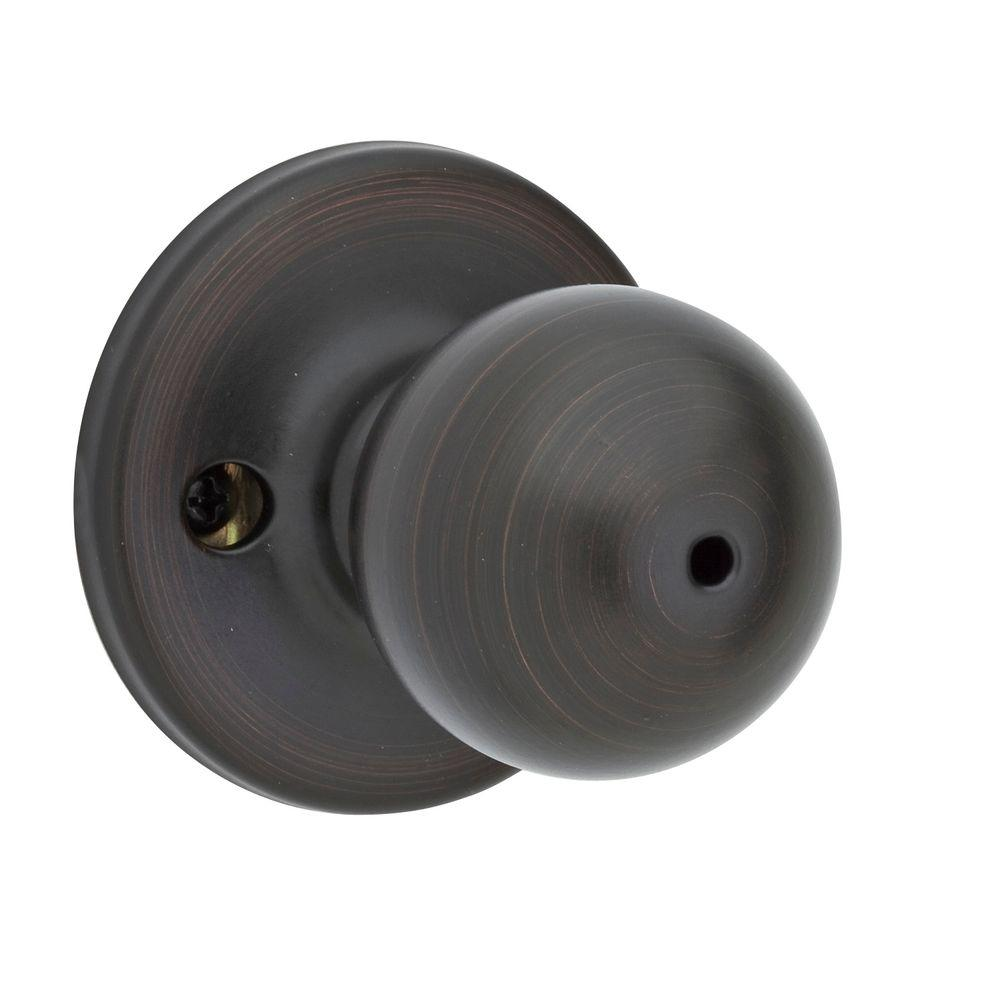 Kwikset Polo Venetian Bronze Bed/Bath Knob-300P 11P 6AL RCS - The ...
