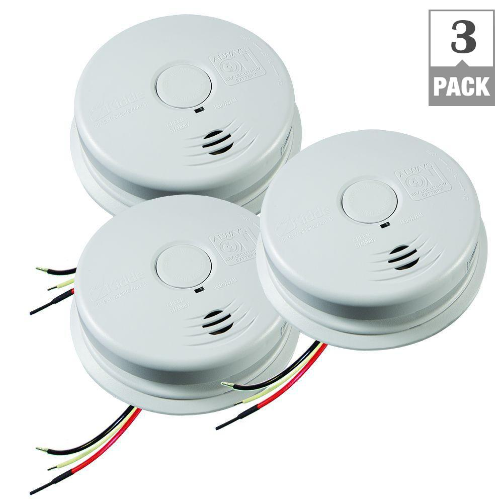 Astounding Kidde Worry Free Hardwire Smoke Detector With 10 Year Battery Backup Wiring Cloud Hisonuggs Outletorg