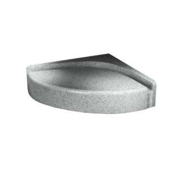 4 in. H Shower Seat in Tahiti Gray
