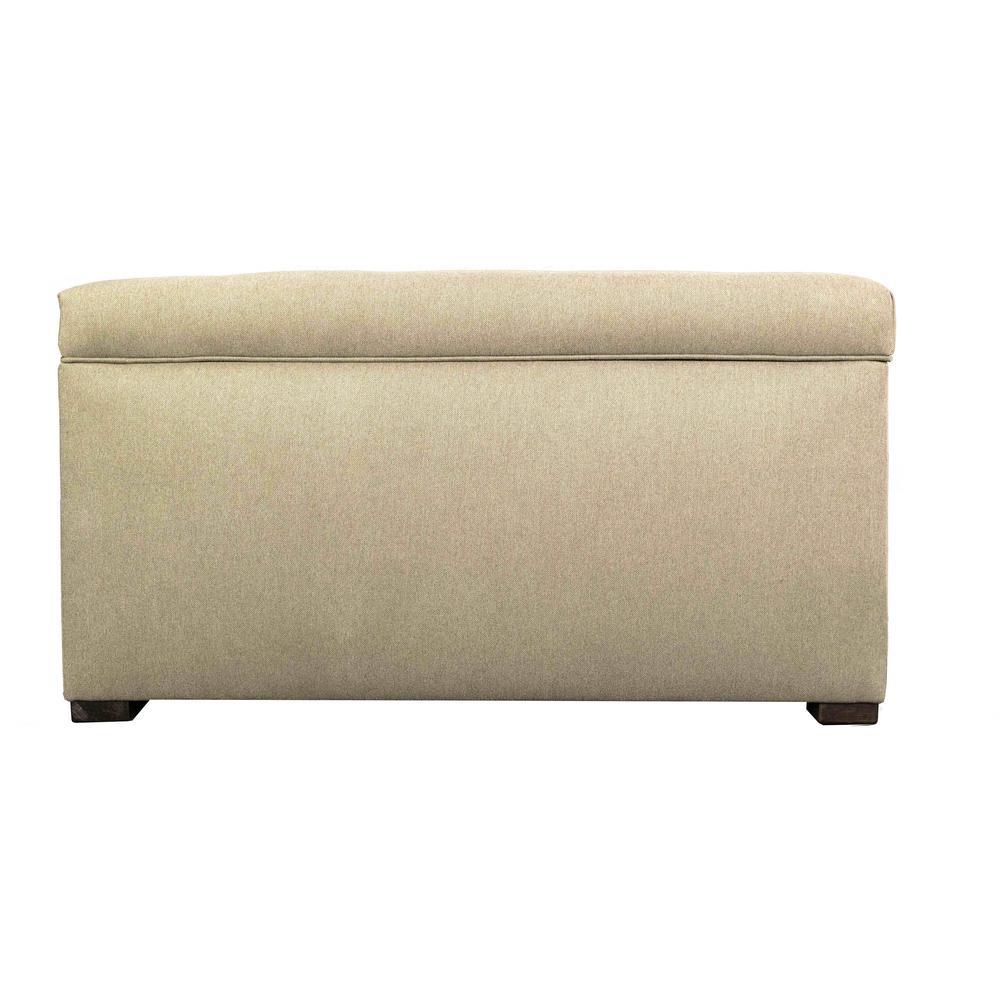 MJL Furniture Designs Angela Dawson Pismo Button Tufted Upholstered Storage Trunk