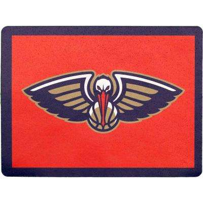 NBA New Orleans Pelicans Address Logo Graphic