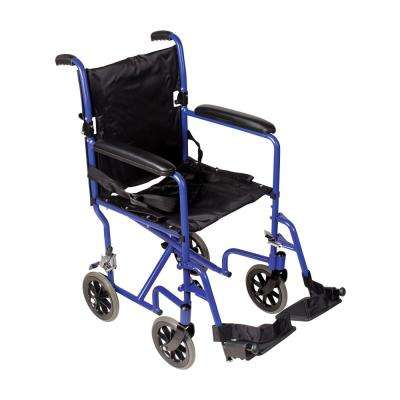 Ultra Lightweight Transport Chair in Aluminum