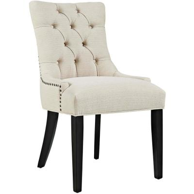 Regent Beige Fabric Dining Chair