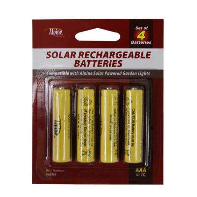 300 MAH Replacement AAA NI-CD Batteries