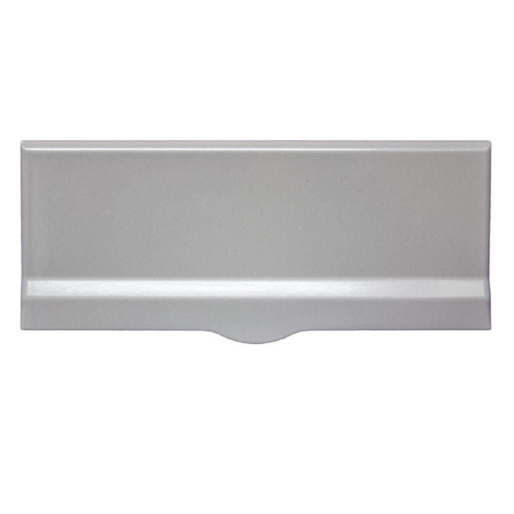 Liberty Wall Mount Non Locking Mail Flap Slot In Silver