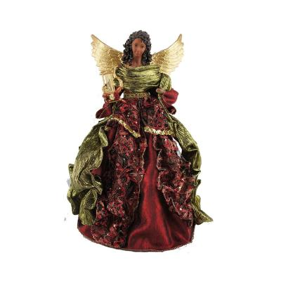 16 in. Aa Christmas Angel Tree Topper